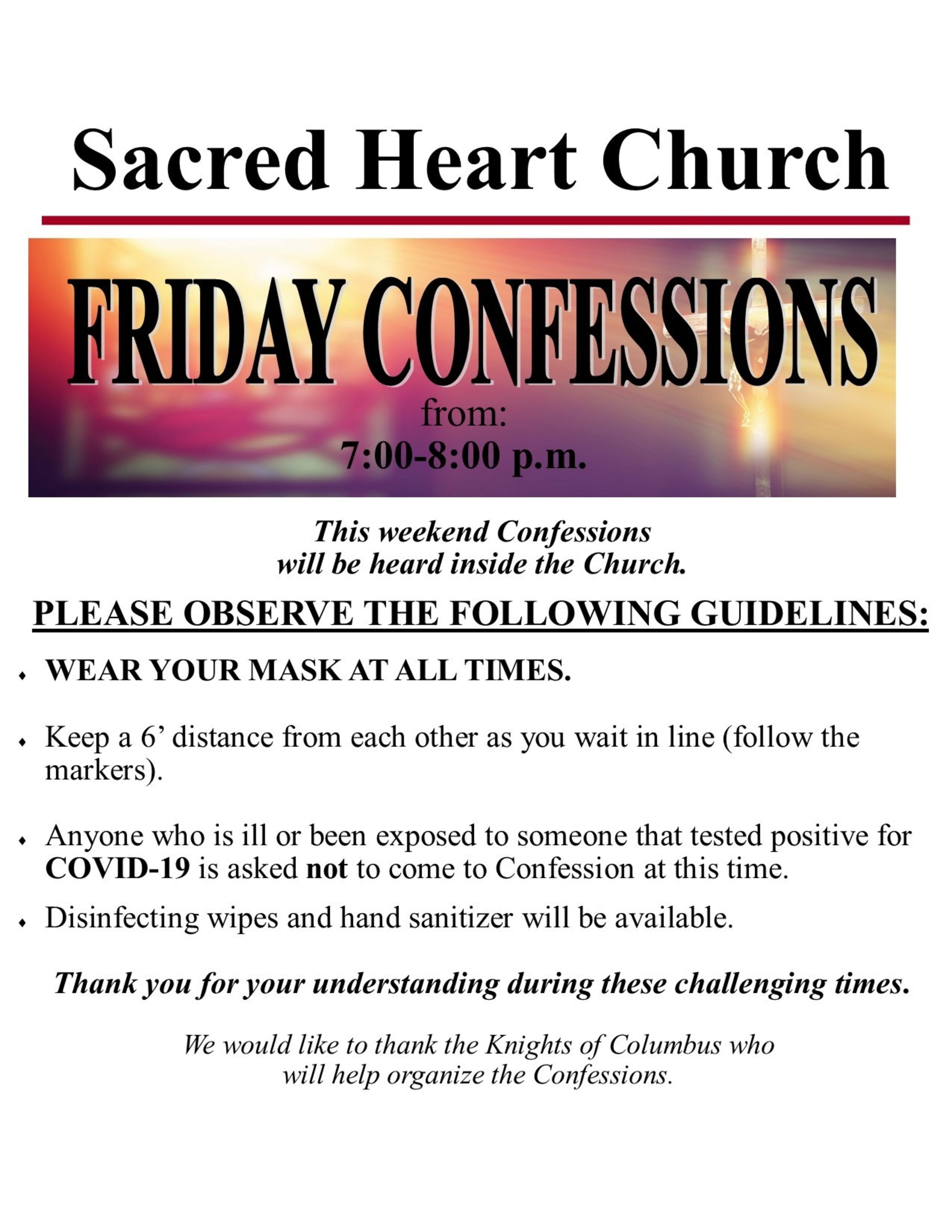 Confesiones Covid 2020 Friday