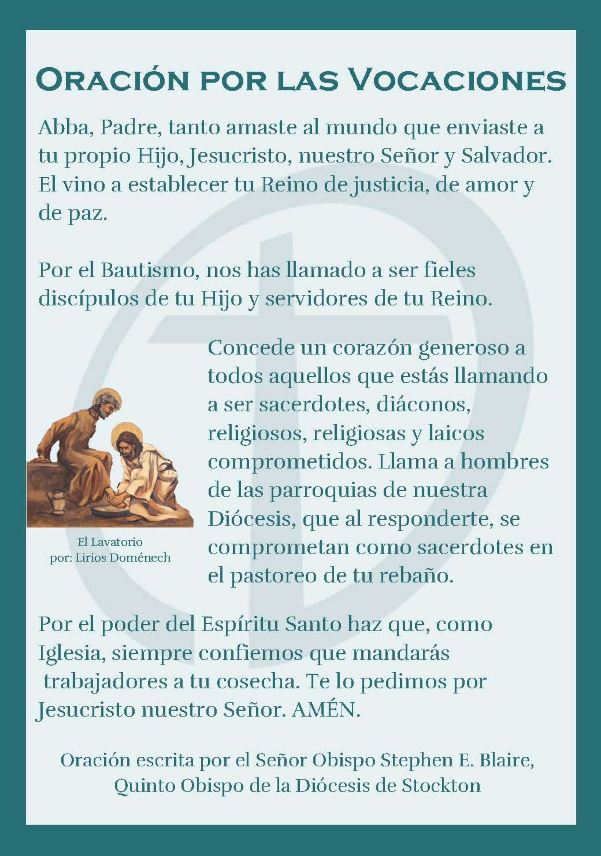 Oracion Para Vocaciones Page 1