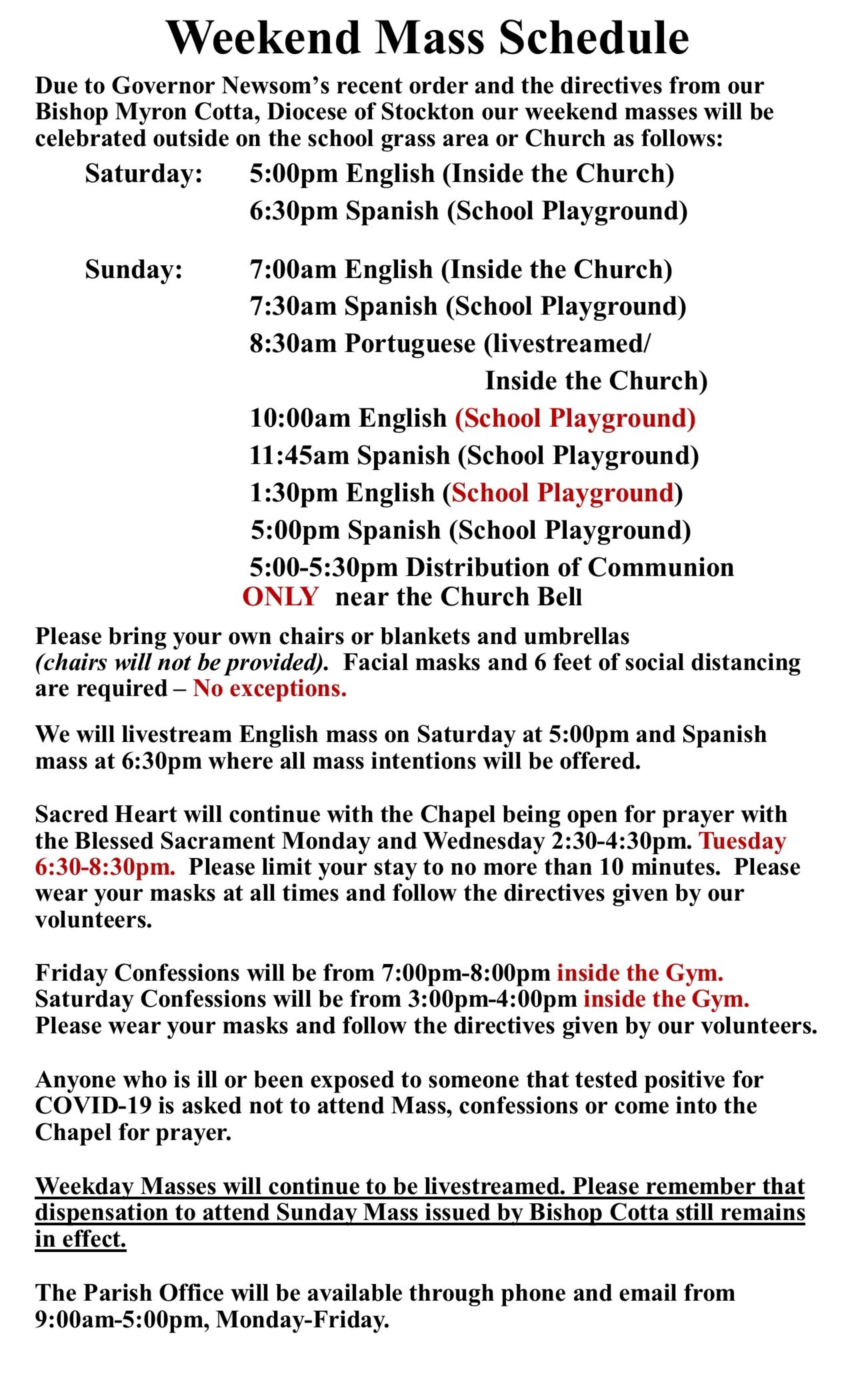 English Directives April 2021
