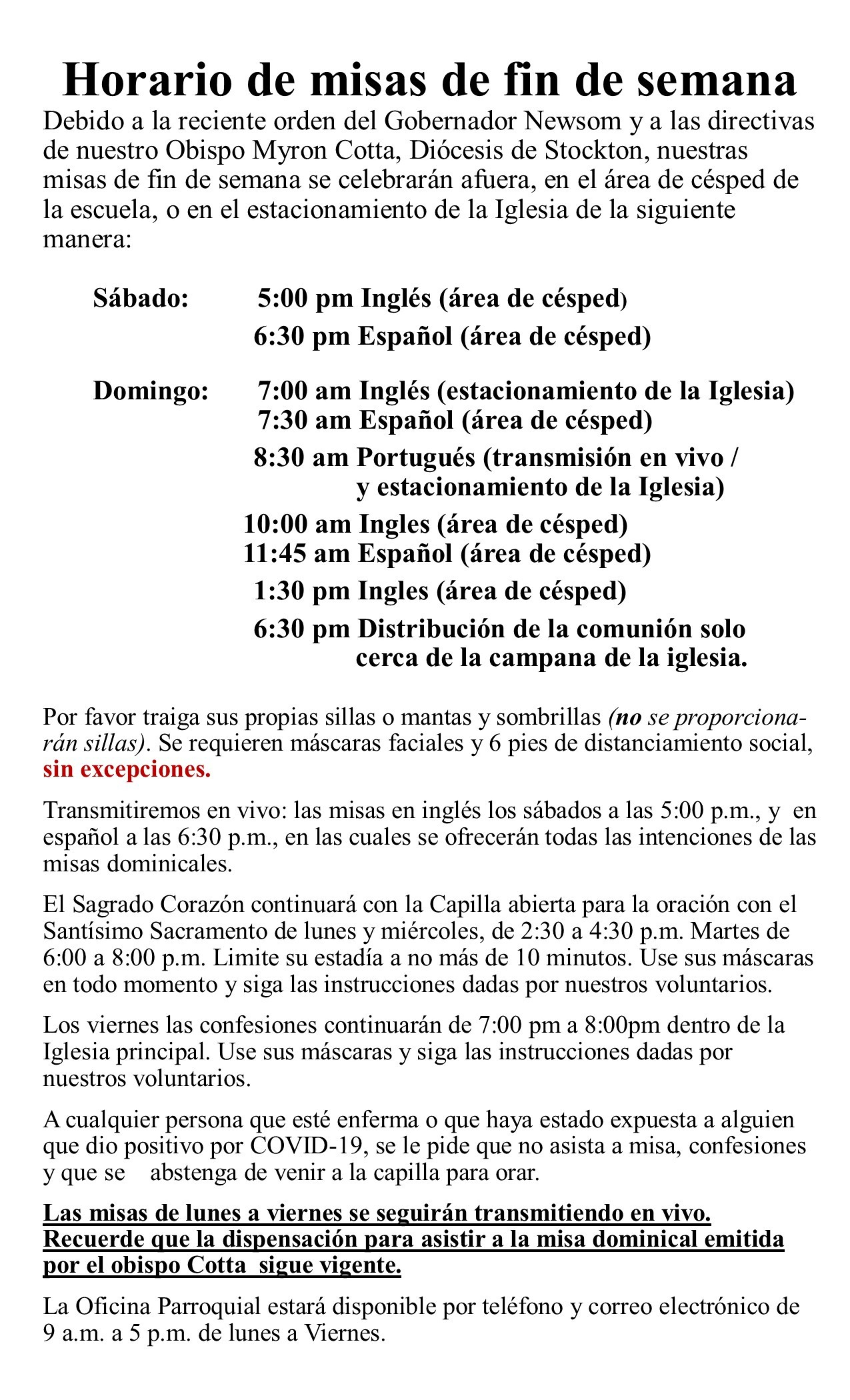 New Directives Spanish 3