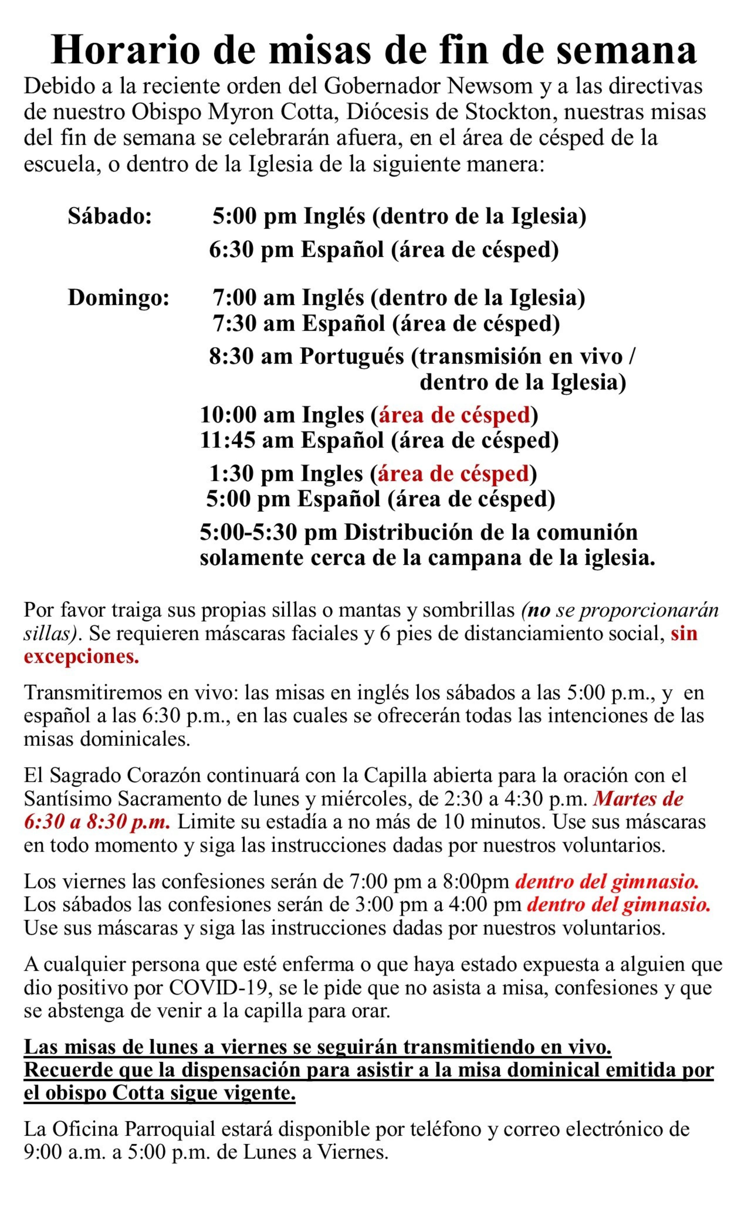 Spanish Directives April 2021