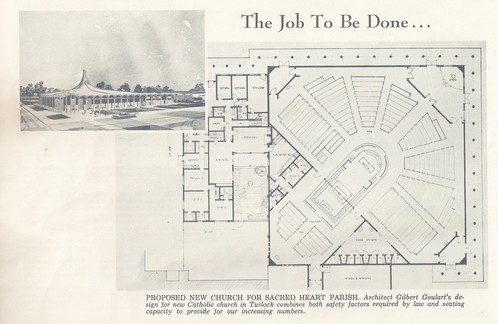 Blueprint Of New Church