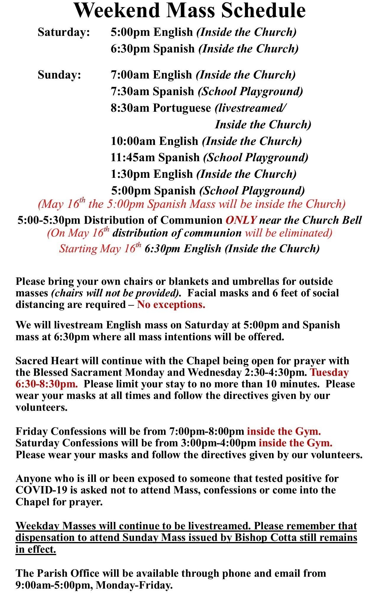 English Directives May 2021