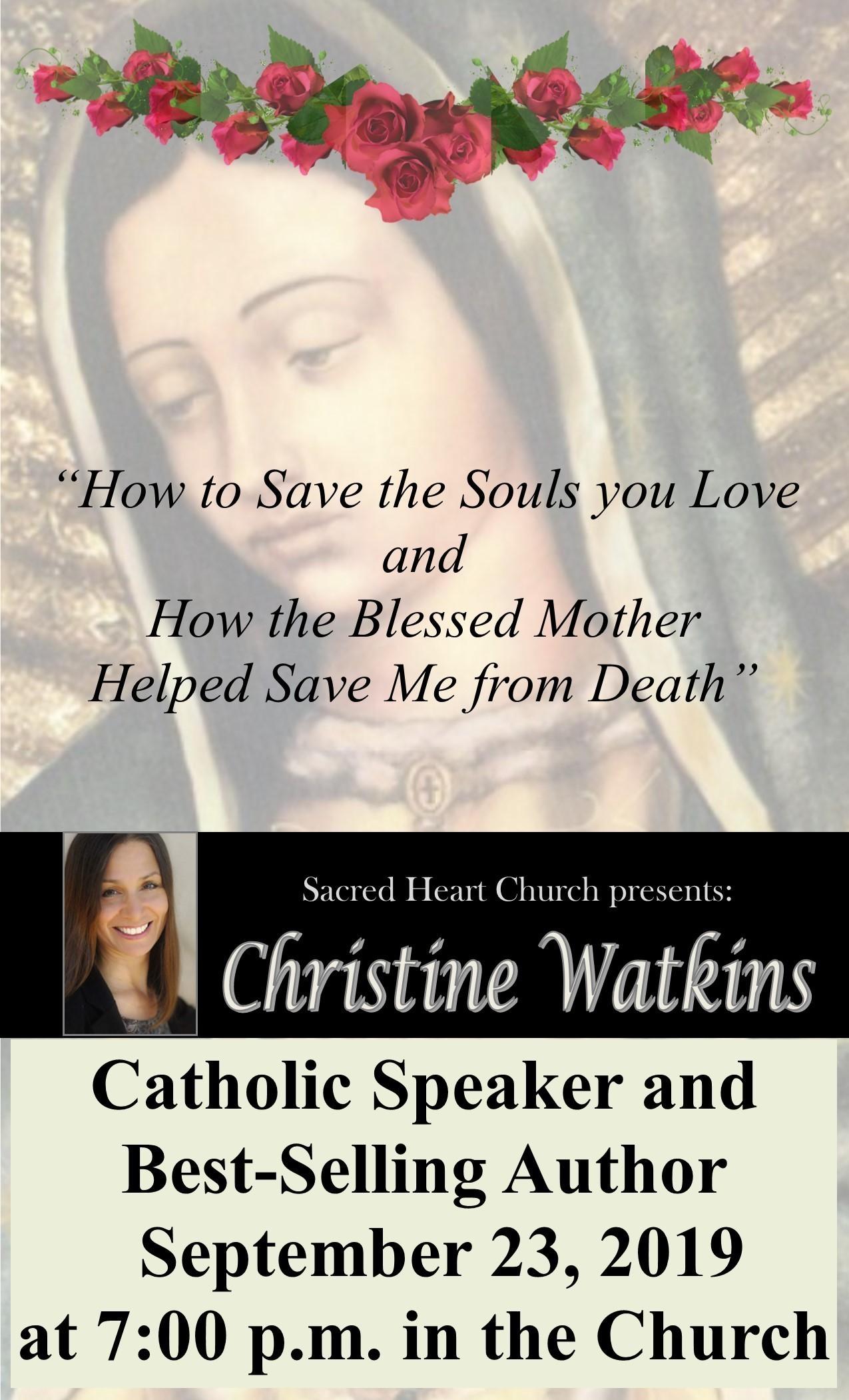 Poster Christine Watkins 1
