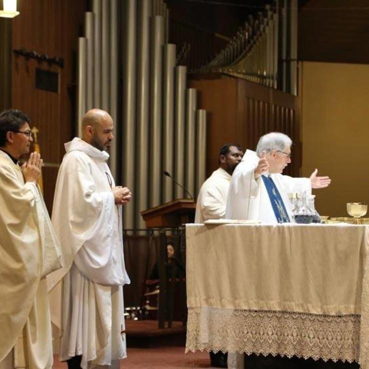 Holy Thursday all priest