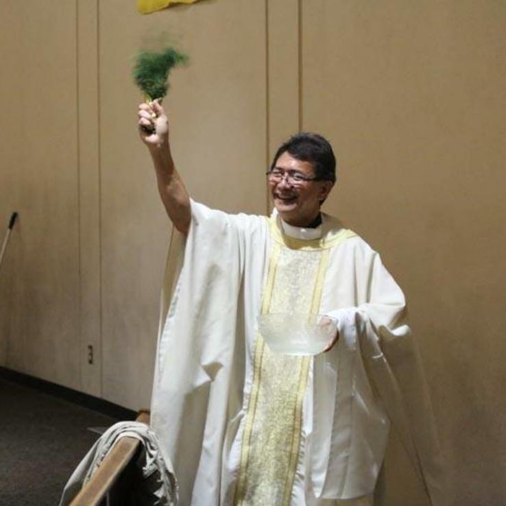 Easter Vigil Fr. Marcelino