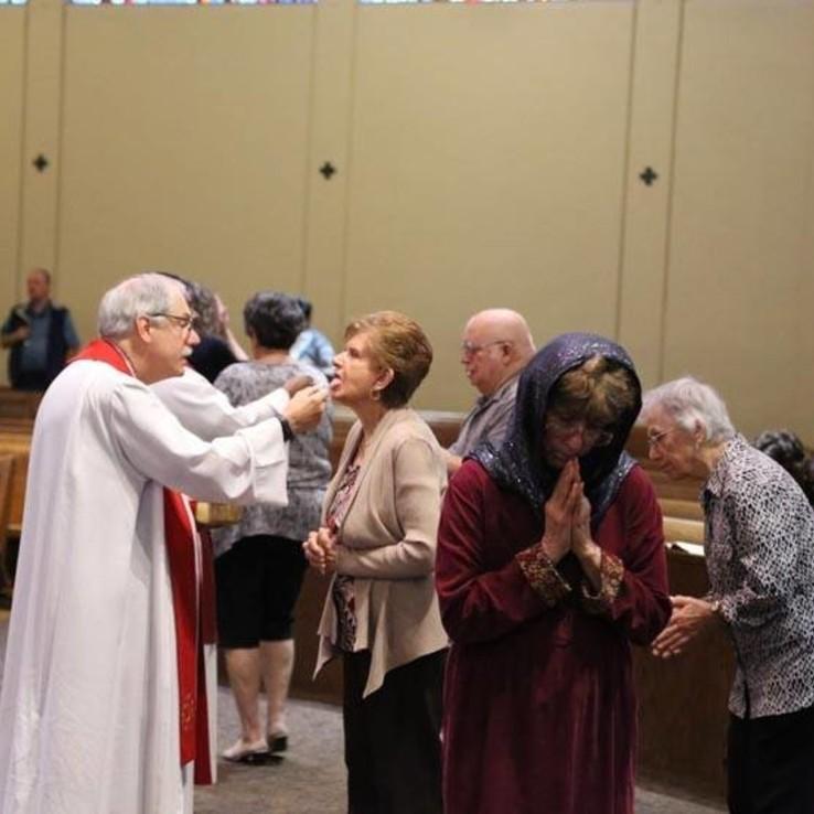 Good Friday Communion