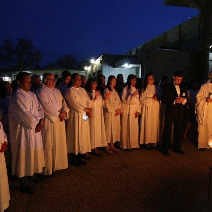 Easter Vigil night