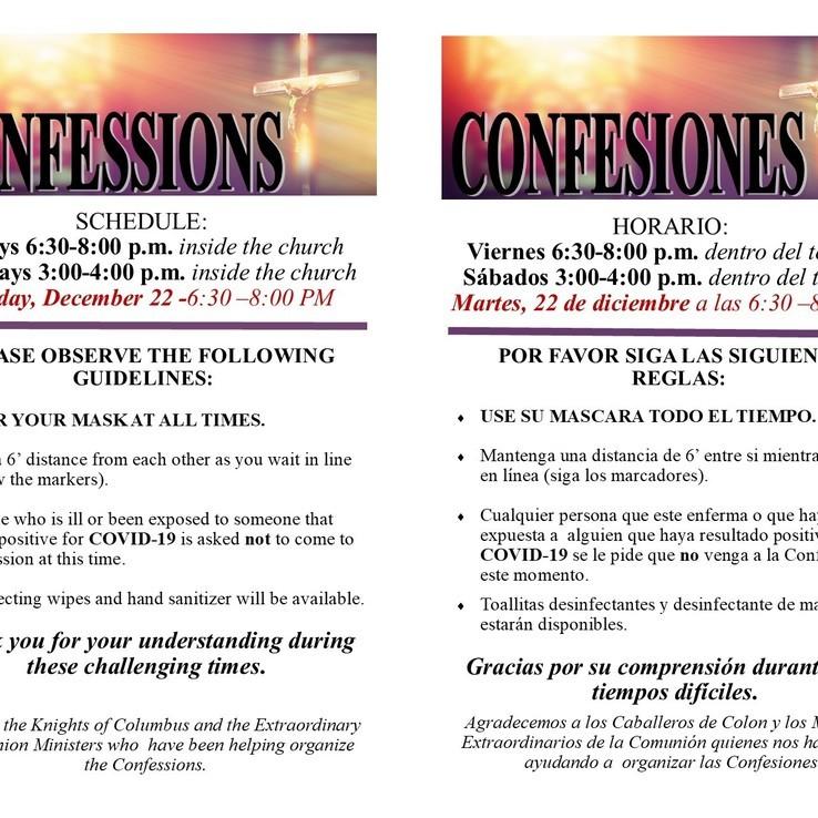 Confesiones Covid 2020